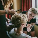 hair salon, beauty salon, wedding, blonde hair, blond hair